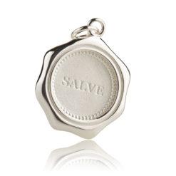 Expressiver Schmuck Silber Anhänger SALVE